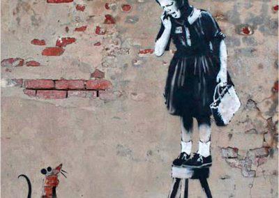 Banksy 105