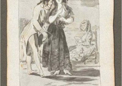 Goya - Caprichos 185