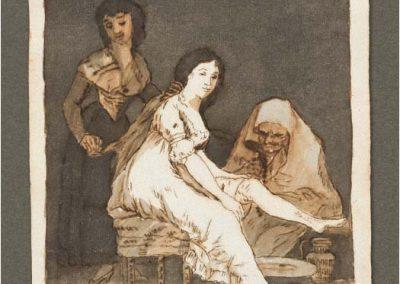 Goya - Caprichos 209