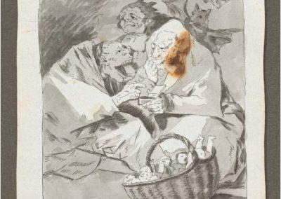Goya - Caprichos 223