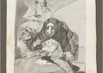 Goya - Caprichos 232