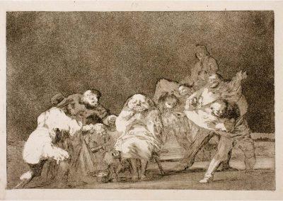 Goya - Disparates 291