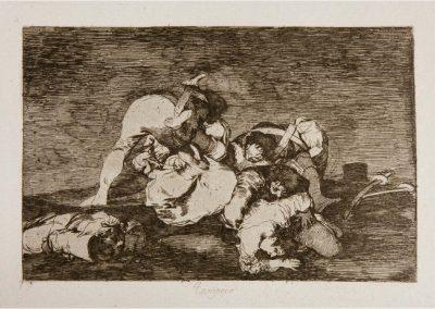 Goya - Los desastres de la guerra 306