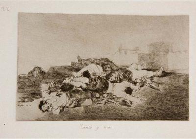 Goya - Los desastres de la guerra 318