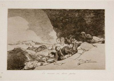 Goya - Los desastres de la guerra 319