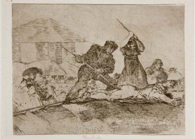 Goya - Los desastres de la guerra 324