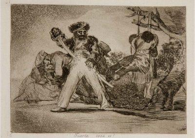 Goya - Los desastres de la guerra 327