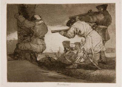 Goya - Los desastres de la guerra 334