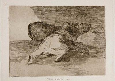 Goya - Los desastres de la guerra 336