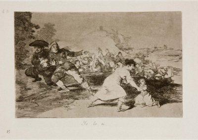 Goya - Los desastres de la guerra 340