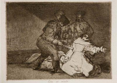 Goya - Los desastres de la guerra 342
