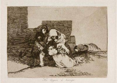 Goya - Los desastres de la guerra 348