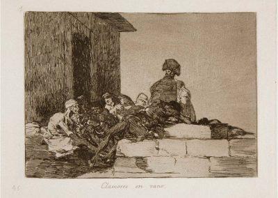 Goya - Los desastres de la guerra 350
