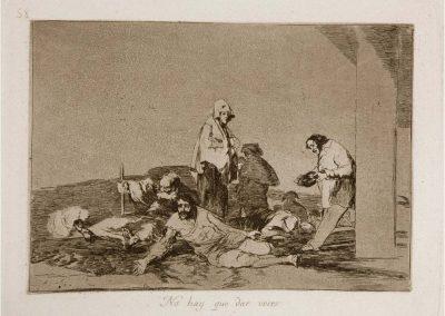 Goya - Los desastres de la guerra 354