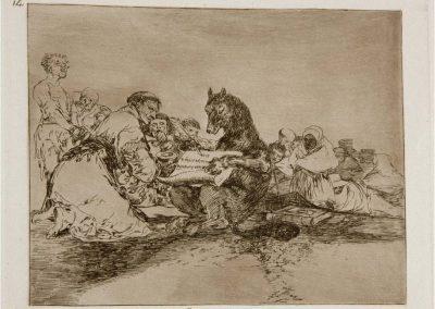 Goya - Los desastres de la guerra 370