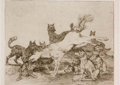 Goya - Los desastres de la guerra 374