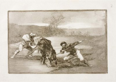 Goya - Tauromaquia 379