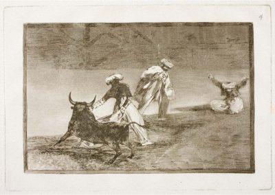 Goya - Tauromaquia 380