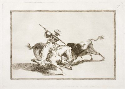 Goya - Tauromaquia 381