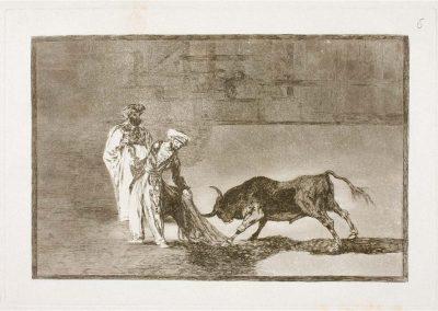 Goya - Tauromaquia 382
