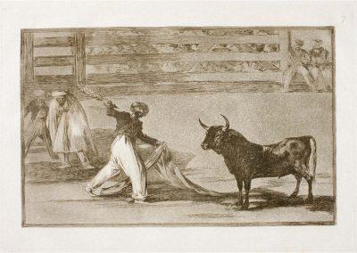 Goya - Tauromaquia 383