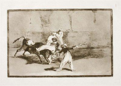 Goya - Tauromaquia 384