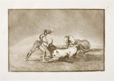 Goya - Tauromaquia 385