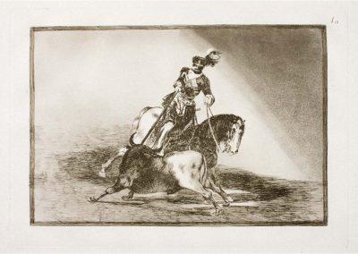 Goya - Tauromaquia 386