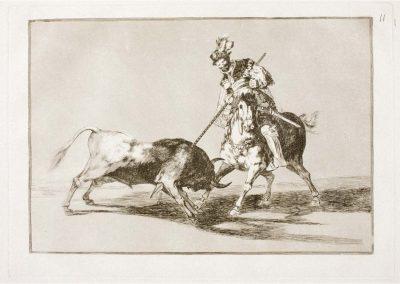 Goya - Tauromaquia 387
