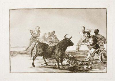 Goya - Tauromaquia 388