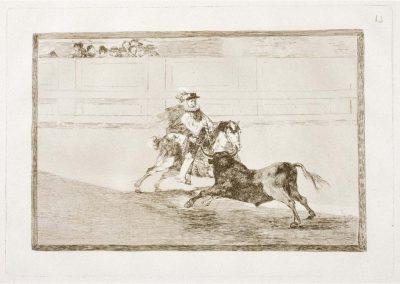 Goya - Tauromaquia 389