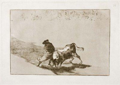 Goya - Tauromaquia 390