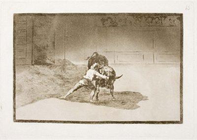 Goya - Tauromaquia 391