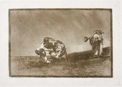 Goya - Tauromaquia 392