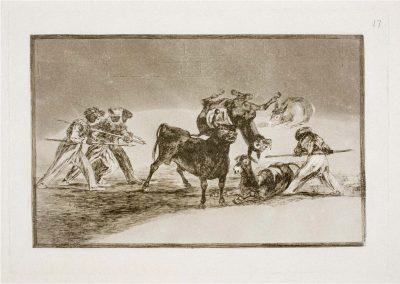 Goya - Tauromaquia 393