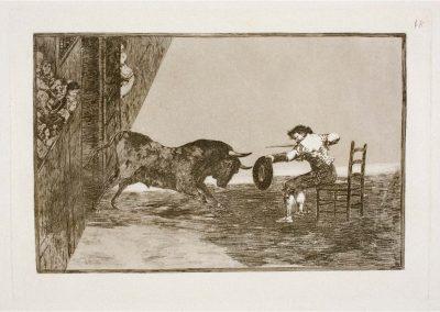 Goya - Tauromaquia 394