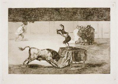 Goya - Tauromaquia 395