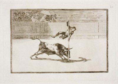 Goya - Tauromaquia 396