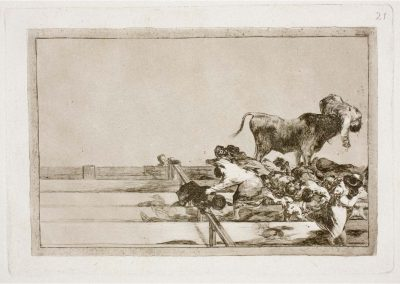 Goya - Tauromaquia 397