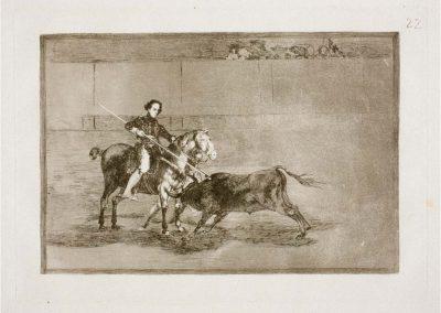Goya - Tauromaquia 398