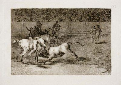 Goya - Tauromaquia 399
