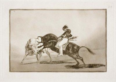 Goya - Tauromaquia 400