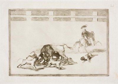 Goya - Tauromaquia 401