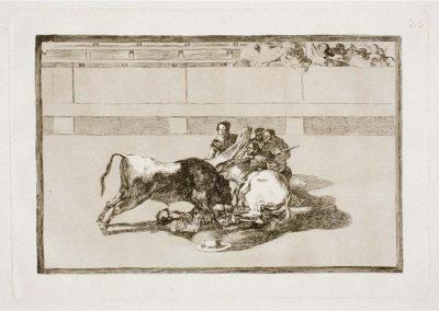 Goya - Tauromaquia 402