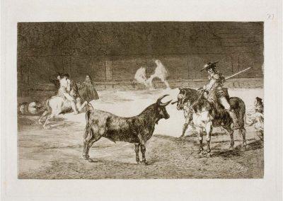 Goya - Tauromaquia 403