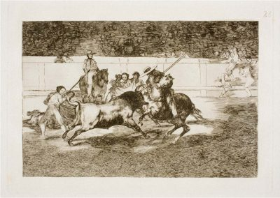 Goya - Tauromaquia 404