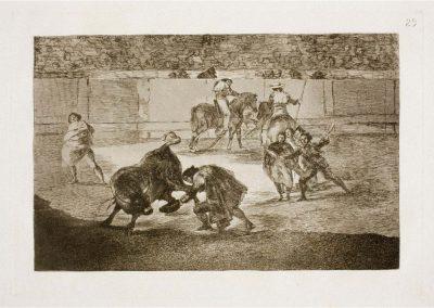 Goya - Tauromaquia 405