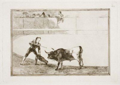 Goya - Tauromaquia 406
