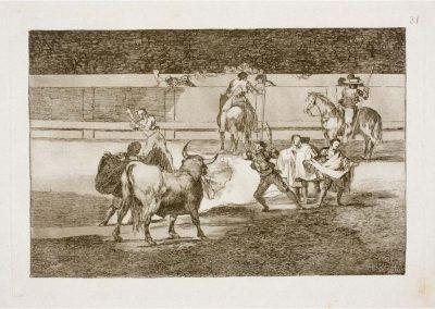Goya - Tauromaquia 407