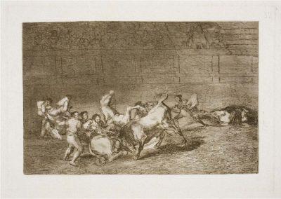 Goya - Tauromaquia 408